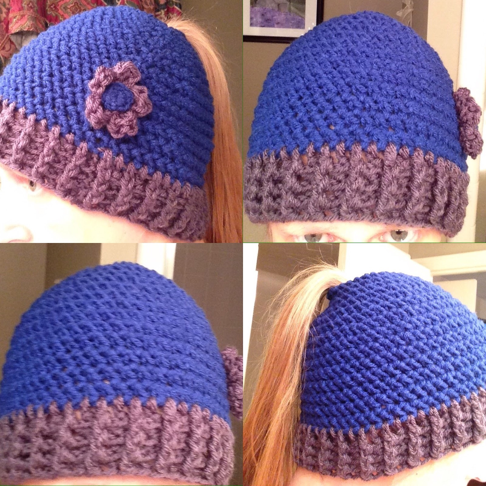 Awesome the Perfect Stitch Crochet Messy Bun Ponytail Hat Ponytail Hats Free Patterns Of Incredible 42 Ideas Ponytail Hats Free Patterns