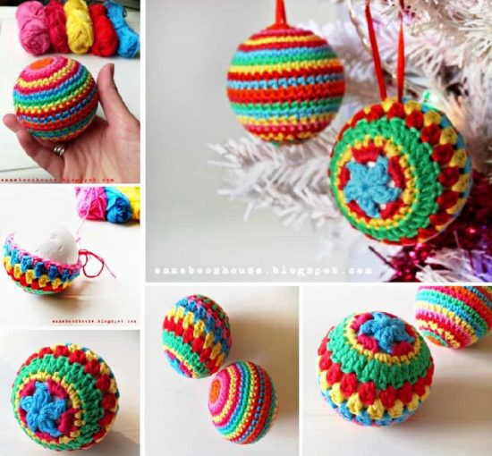 Awesome the Sweetest Crochet Christmas ornaments Patterns Free Crochet Christmas Tree ornament Patterns Of Awesome 44 Ideas Free Crochet Christmas Tree ornament Patterns