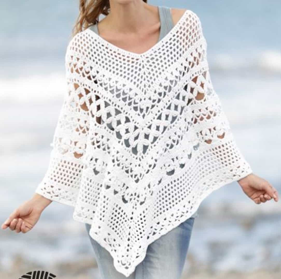 Awesome these Crochet Ponchos are Beyond Gorgeous Crochet Design Patterns Of Top 50 Models Crochet Design Patterns