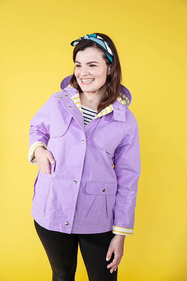 Awesome Tilly and the buttons Meet the Eden Raincoat and Coat Jacket Sewing Patterns Of Adorable 41 Models Jacket Sewing Patterns