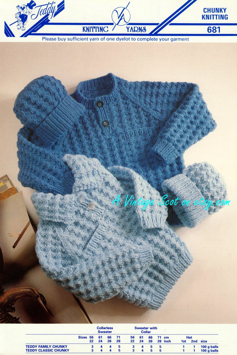 toddler childs chunky bulky sweater