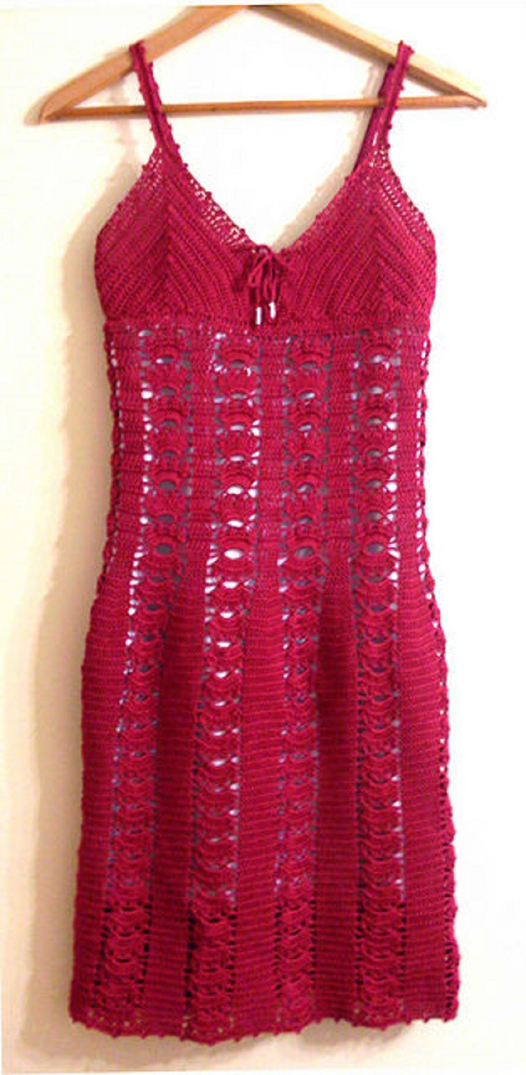 Awesome top 10 Free Patterns for Crochet Summer Clothes top Inspired Crochet Dress Of Awesome 50 Pictures Crochet Dress