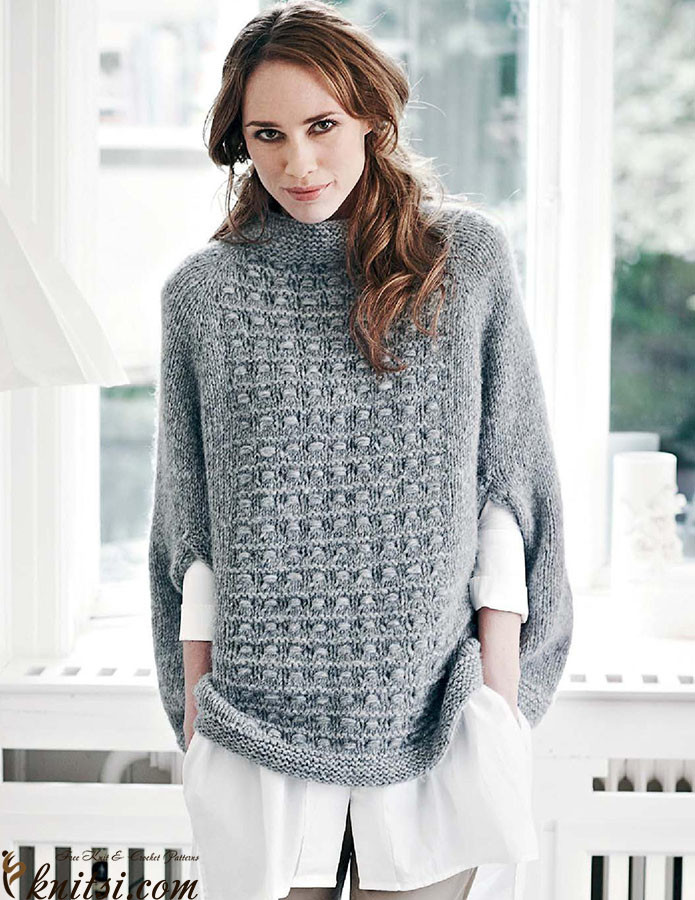 Awesome top Down Poncho Knitting Pattern Free Poncho Knitting Patterns Of Incredible 43 Models Free Poncho Knitting Patterns