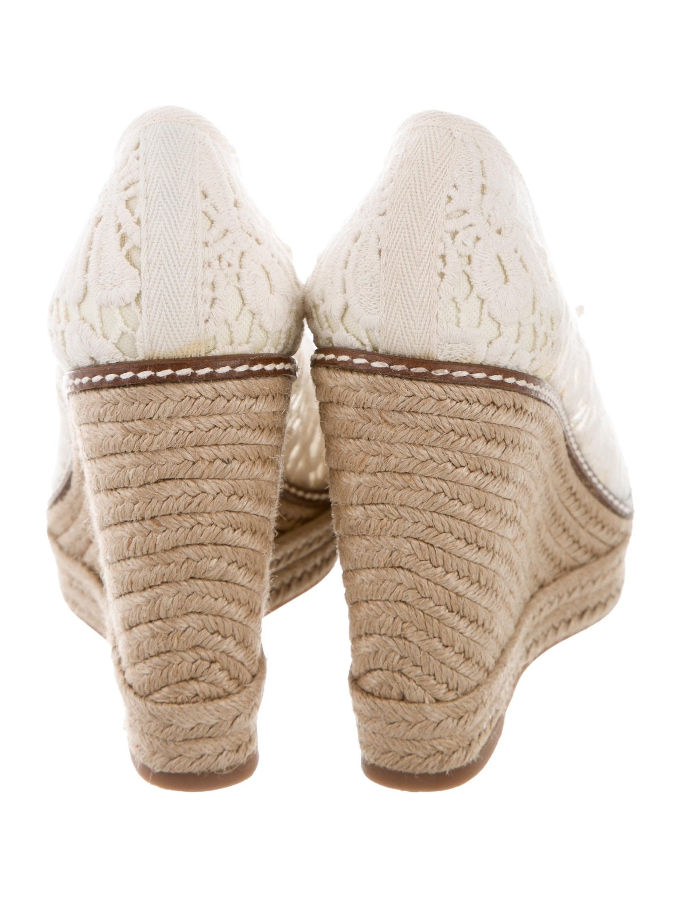 Awesome tory Burch Crocheted Espadrille Wedges Shoes Wto Crochet Espadrille Of Lovely 49 Images Crochet Espadrille