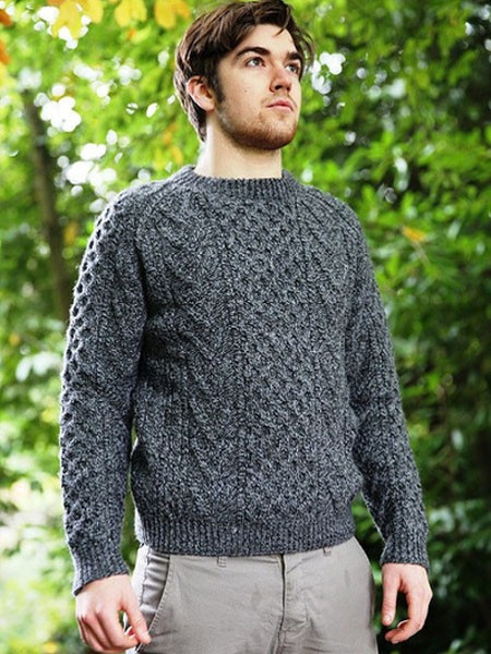 Awesome Traditional Aran Hand Knit Sweater Made From soft Merino Irish Aran Sweater Of Fresh 40 Pics Irish Aran Sweater