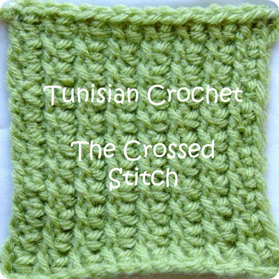 Awesome Tunisian Crochet How to … Tunisian Crossed Stitch Tunisian Crochet Knit Stitch Of Superb 46 Pictures Tunisian Crochet Knit Stitch