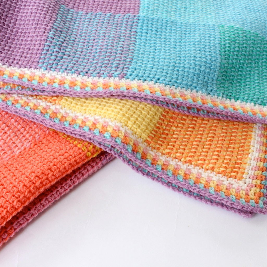 Awesome Tunisian Sunset Tunisian Crochet Pattern Tunisian Stitch Of Attractive 49 Pictures Tunisian Stitch