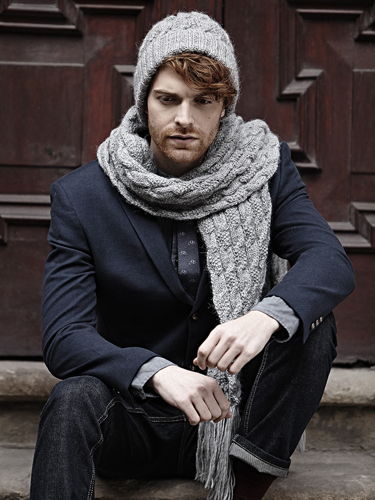 Awesome Twisted Cable Hat & Scarf Pattern Cable Scarf Of Innovative 49 Ideas Cable Scarf