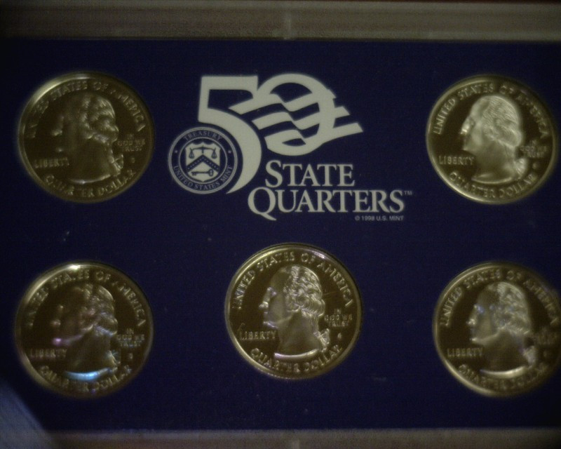 Awesome United States Proof Set 2002 50 State Quarters Proof Set State Quarter Proof Set Of Top 48 Images State Quarter Proof Set