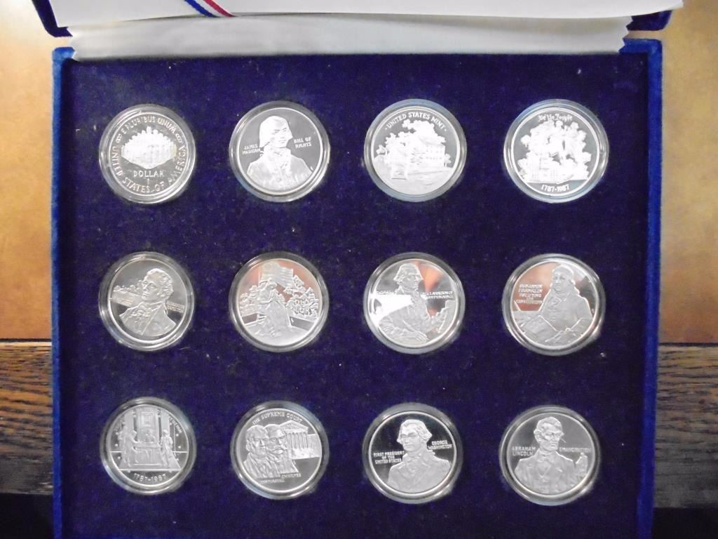 Awesome Us Constitution Bicentennial Proof Set Contains 1987 S Us Us Bicentennial Silver Proof Set Of Beautiful 42 Images Us Bicentennial Silver Proof Set