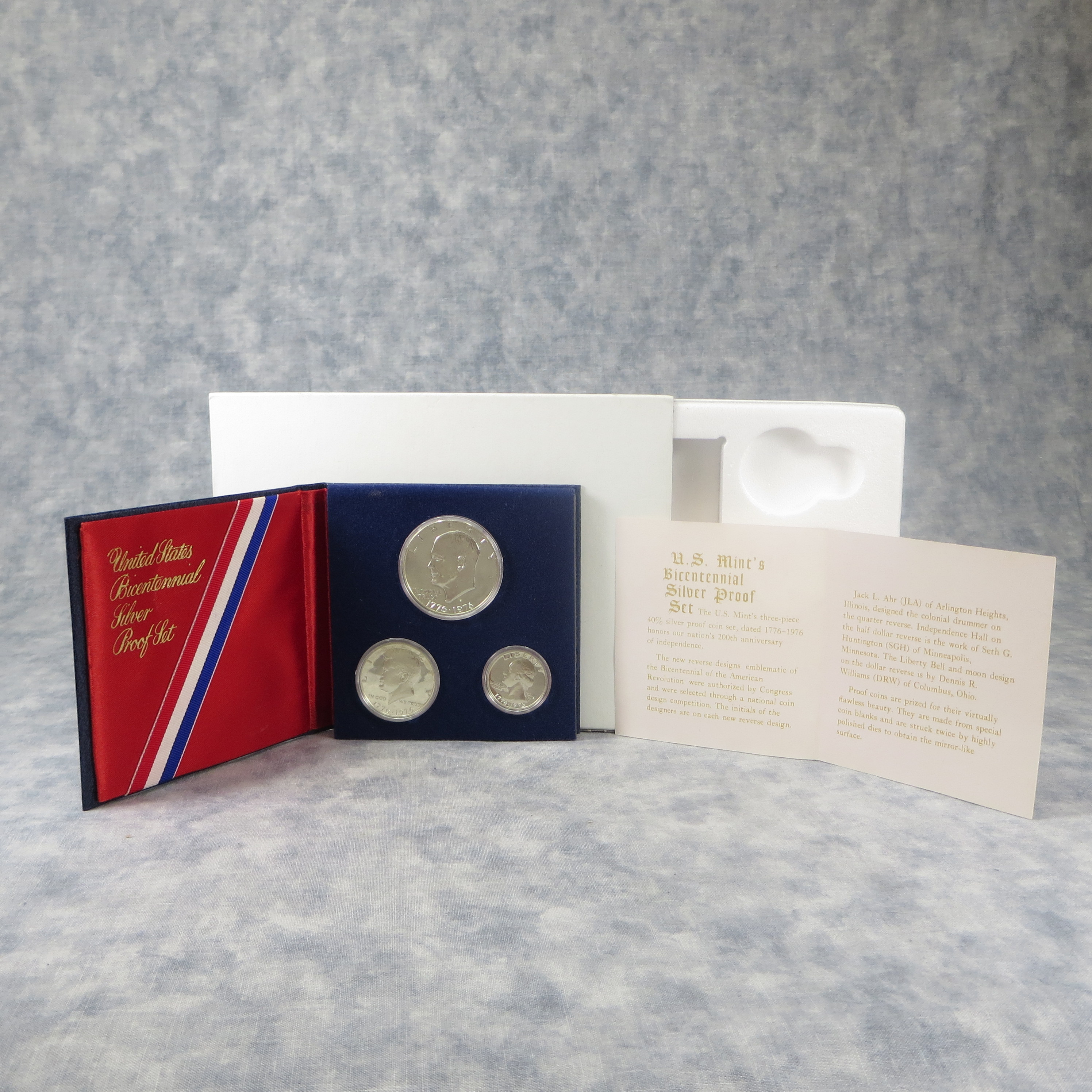 Awesome Value Of Bicentennial 3 Coins Silver Proof Set U S Mint Us Bicentennial Silver Proof Set Of Beautiful 42 Images Us Bicentennial Silver Proof Set