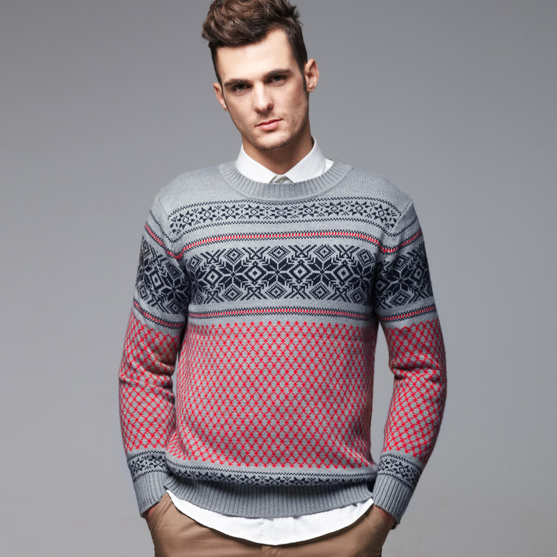 Awesome Vancl Fair isle Pattern Jacquard Men Sweater Gray Mens Sweater Pattern Of Beautiful 47 Pictures Mens Sweater Pattern