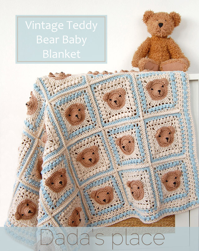 Awesome Vintage Crochet Teddy Bear Baby Blanket Pattern Vintage Baby Blankets Of Adorable 44 Images Vintage Baby Blankets