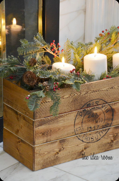 Awesome Vintage Diy Crate Vintage Xmas Decorations Of Beautiful 40 Ideas Vintage Xmas Decorations