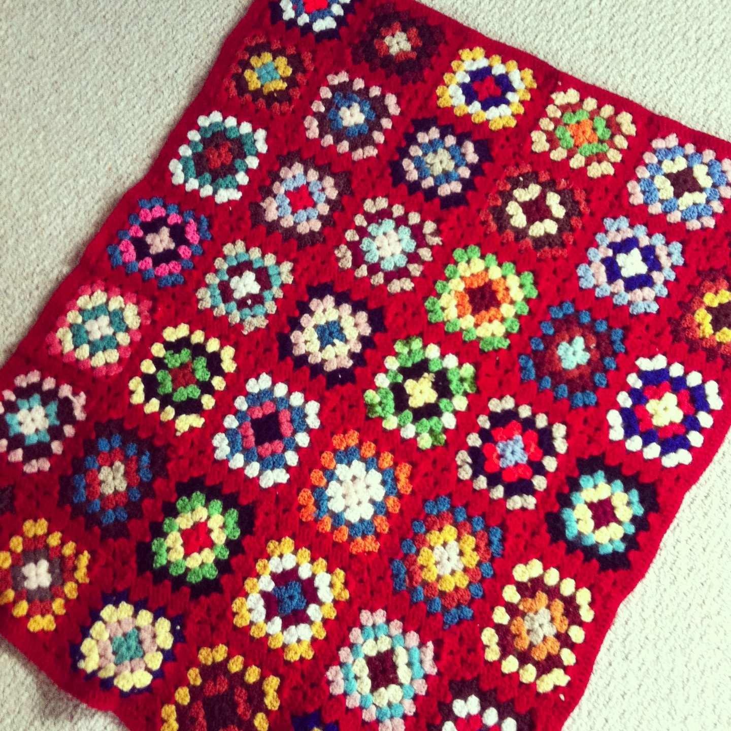 Awesome Vintage Finds Granny Square Crochet Afghans Hello Granny Square Blanket Pattern Of Lovely 45 Photos Granny Square Blanket Pattern