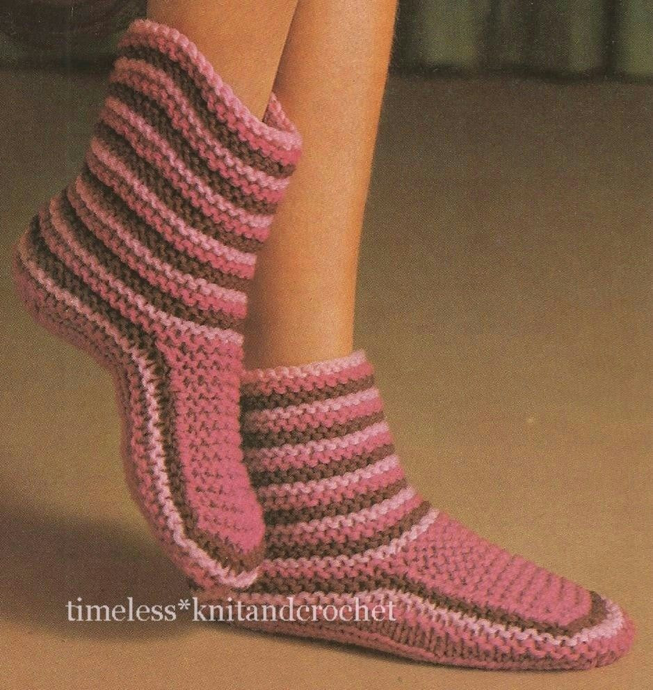 Awesome Vintage Knitting Pattern for Cosy Slippers Slipper Boots Knitted Slipper Boots Of Superb 41 Pics Knitted Slipper Boots
