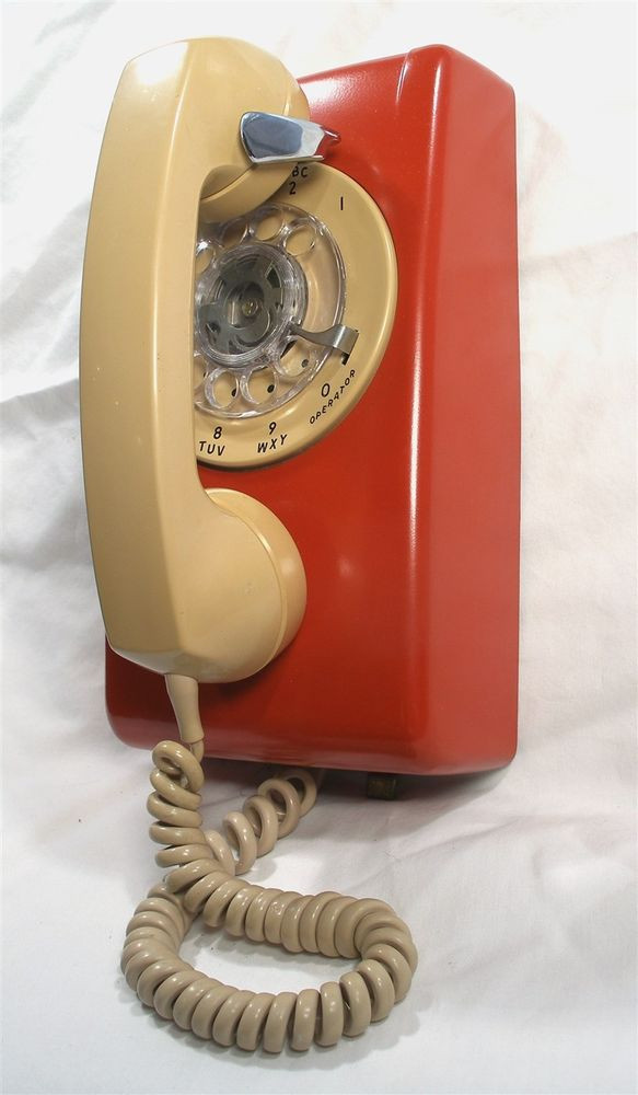 Awesome Vintage Retro Beige Red Stromberg Carlson Works Rotary Vintage Rotary Wall Phone Of Wonderful 46 Pictures Vintage Rotary Wall Phone