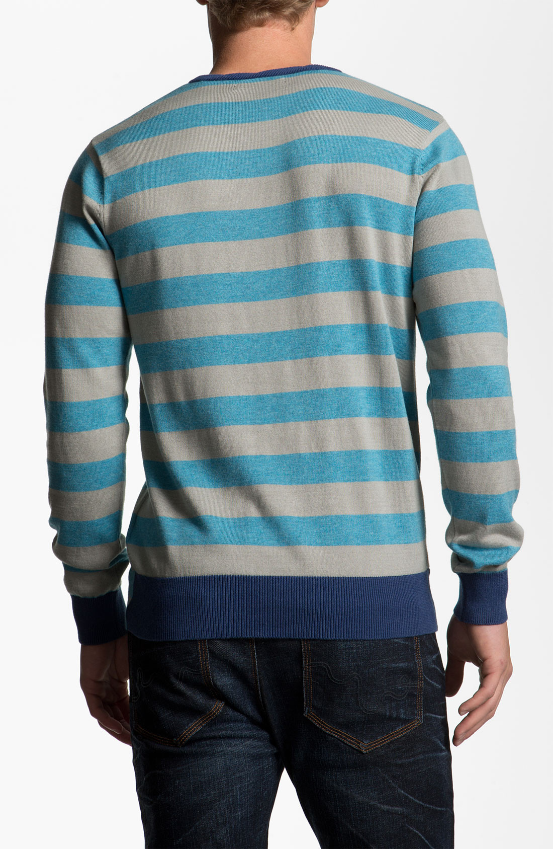 Awesome Vol Other Circle Crewneck Sweater In Blue for Men Circle Sweater Of Innovative 50 Ideas Circle Sweater