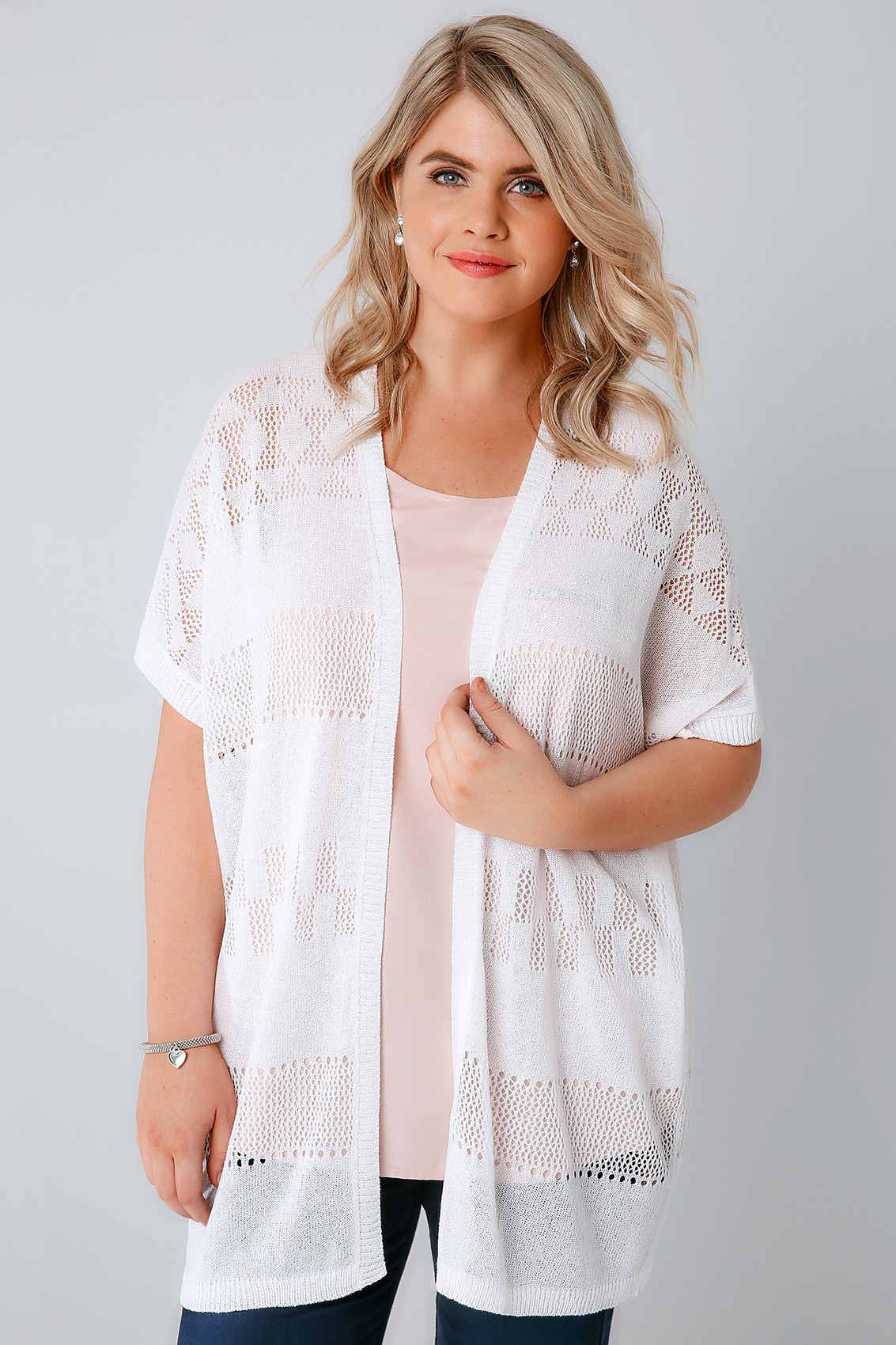 Awesome White Crochet Knit Cardigan with Short Sleeves Plus Size White Crochet Cardigan Of Lovely 47 Ideas White Crochet Cardigan