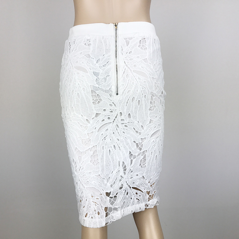 Awesome White Lace Crochet Bodycon Skirt White Crochet Skirt Of Top 45 Pics White Crochet Skirt