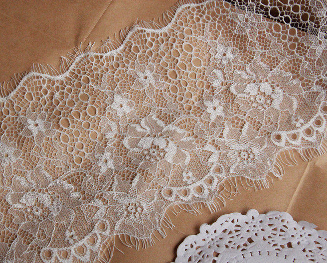 Awesome White Lace Trim Crochet Fabric Eyelash Lace Scalloped Crochet Lace Fabric Of Attractive 45 Images Crochet Lace Fabric