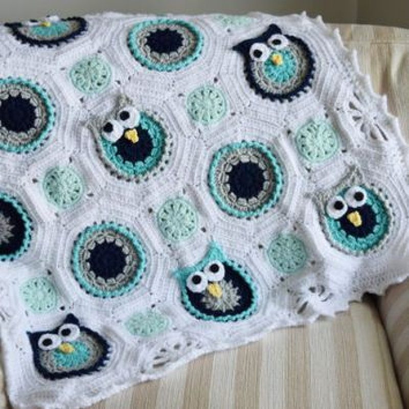 Awesome wholesale Baby Owl Blanket Crochet Baby Blanket soft Crochet Owl Baby Blanket Of Brilliant 48 Ideas Crochet Owl Baby Blanket