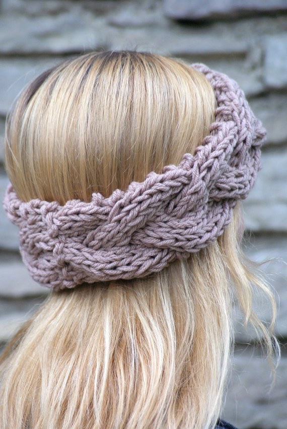 Awesome Women S Boho Braided Knit Headband Chunky Knit Fall and Braided Knit Headband Of Amazing 42 Pics Braided Knit Headband