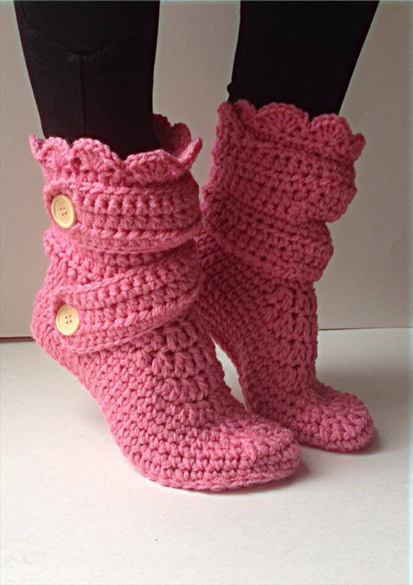 Awesome Women S Crochet Pink Slippers Crochet Shoes Pattern Of Beautiful 48 Pictures Crochet Shoes Pattern
