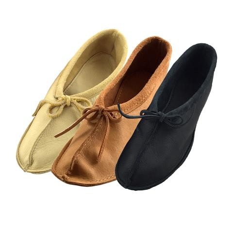 Awesome Women S soft sole Genuine Moosehide Leather Beaded Leather sole Slippers Of Fresh 46 Models Leather sole Slippers