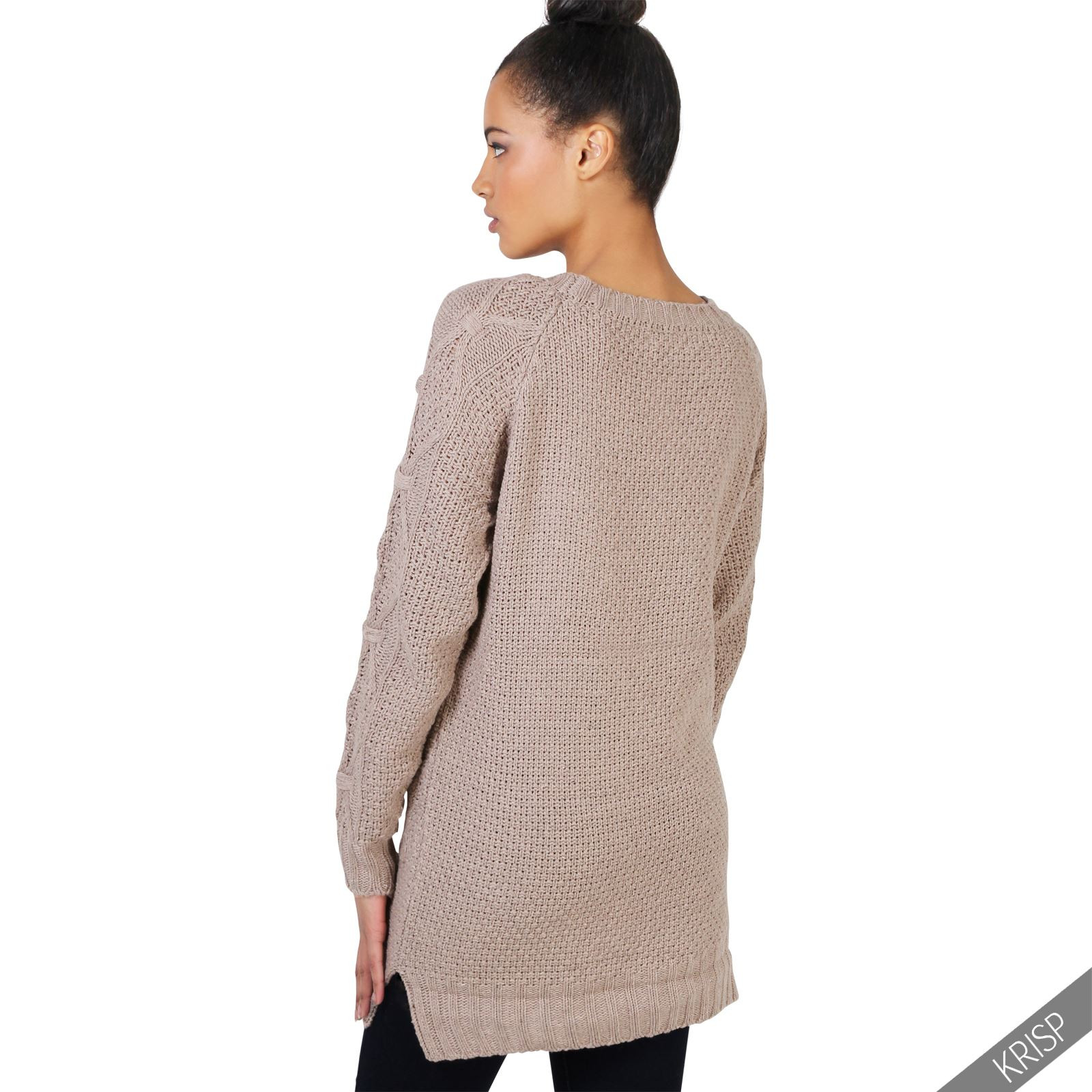 Awesome Womens Chunky Cable Knit Baggy Long Winter Jumper La S Womens Chunky Cable Knit Sweater Of Luxury 45 Models Womens Chunky Cable Knit Sweater