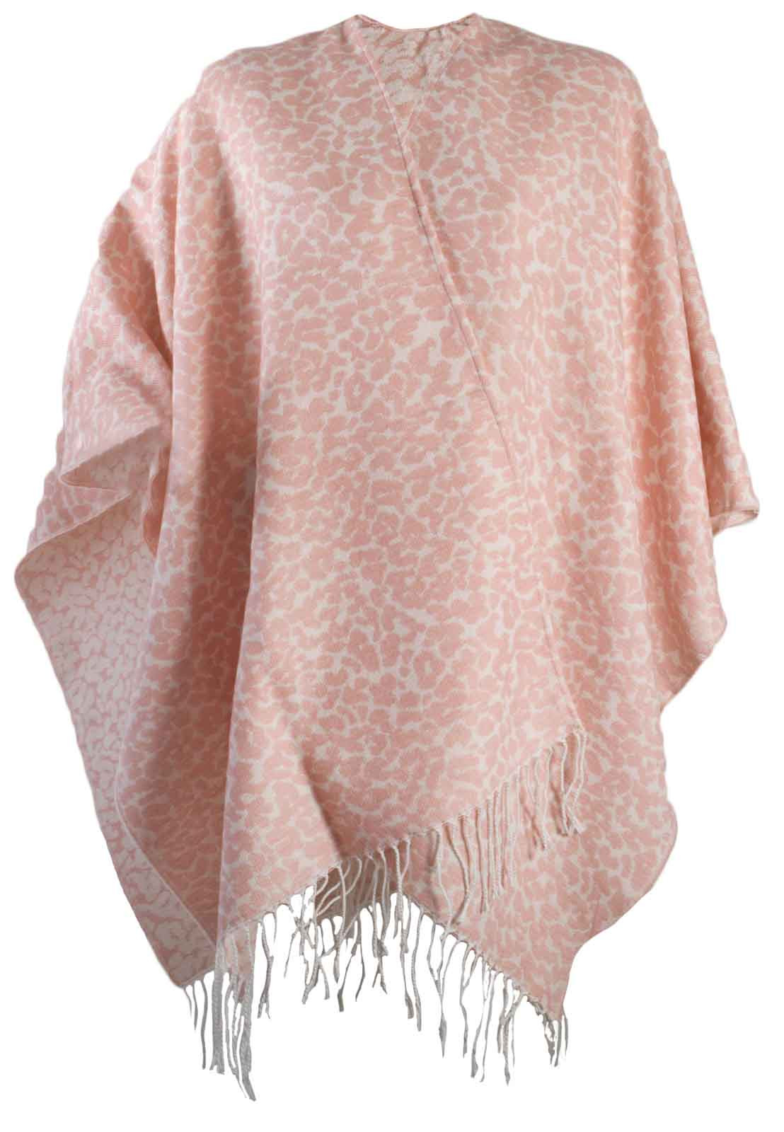 Womens Warm Winter Shawl Poncho Wrap Knitted Cape Scarf