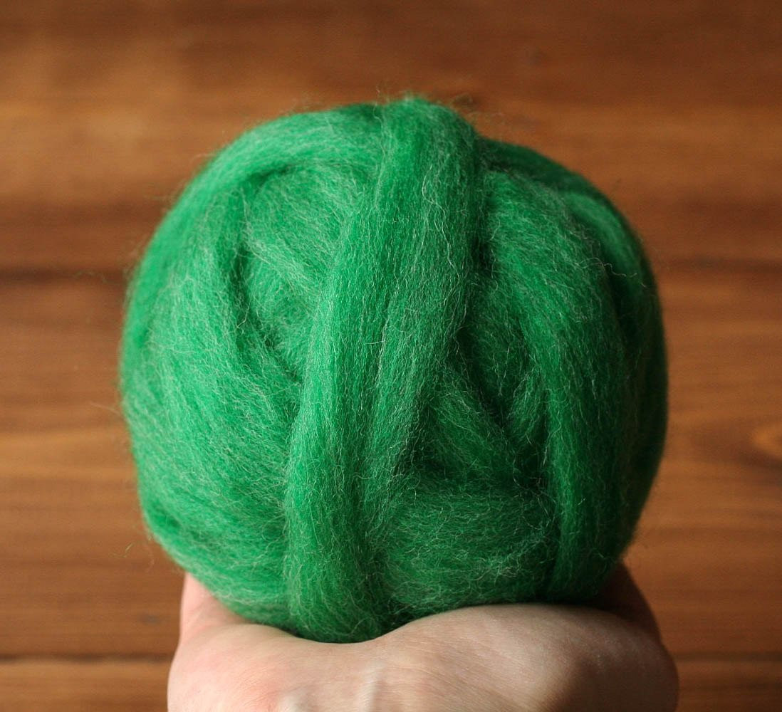 Awesome Wool Roving for Needle Felting In Malachite Spring Green Wool Roving Yarn Of Awesome 40 Pictures Wool Roving Yarn