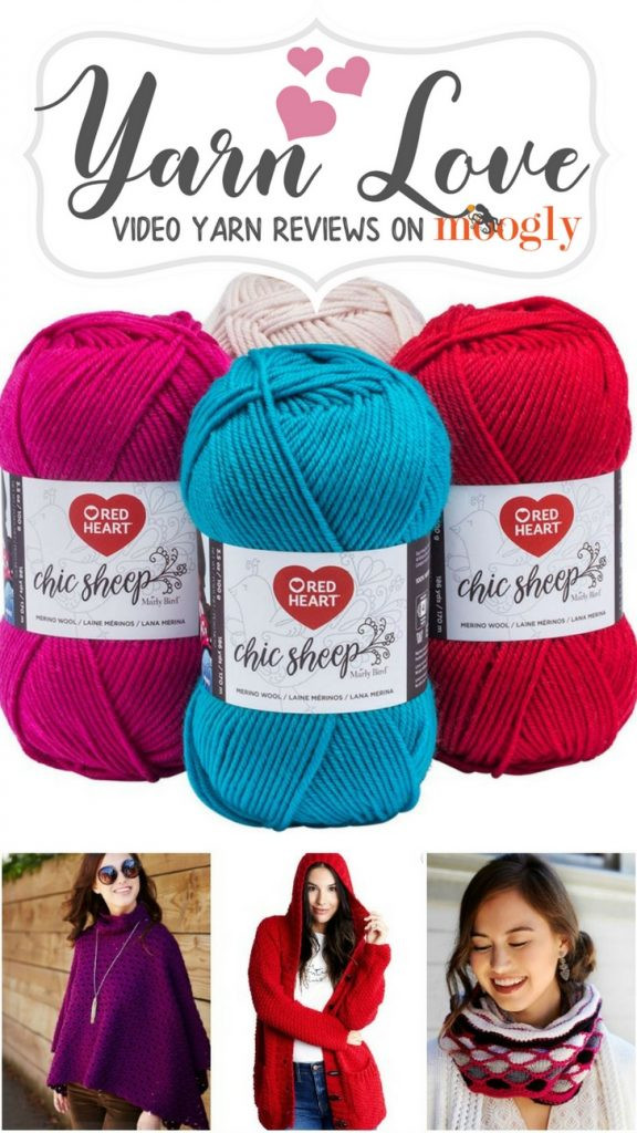 Awesome Yarn Love Red Heart Chic Sheep by Marly Bird Moogly Red Heart Chic Sheep Yarn Of Charming 41 Images Red Heart Chic Sheep Yarn