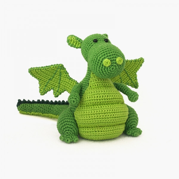 Awesome Yoki the Dragon Amigurumi Pattern Amigurumipatterns Crochet Dragon Pattern Of Brilliant 50 Pictures Crochet Dragon Pattern