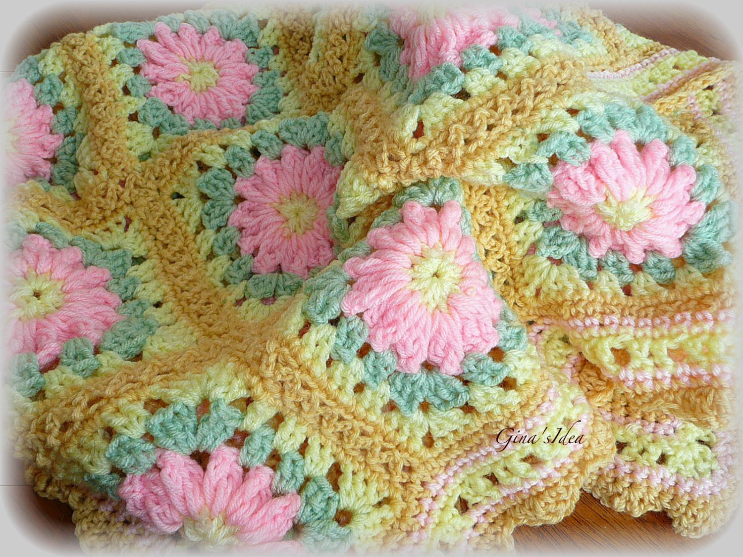 Baby Afghan Fresh Crocheted soft Baby Girl Blanket Afghan Granny Squares Of Attractive 50 Pics Baby Afghan