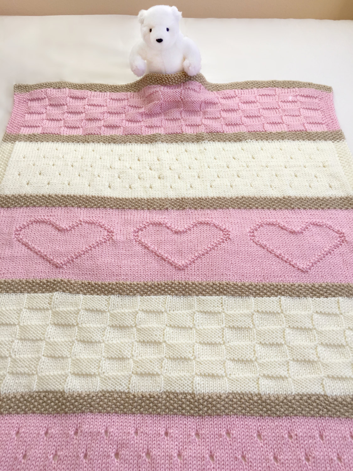 Baby Afghan Knitting Patterns Awesome Baby Blanket Pattern Knit Baby Blanket by Deboraholearypattern Of Superb 40 Images Baby Afghan Knitting Patterns