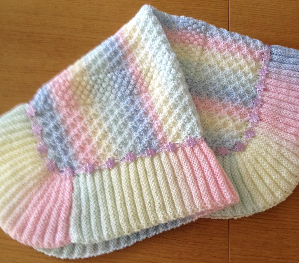 Baby Afghan Knitting Patterns Awesome Free Baby Blanket Knit Pattern Of Superb 40 Images Baby Afghan Knitting Patterns