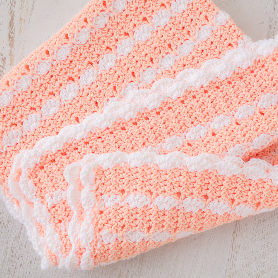 Baby Afghan New Peaches & Cream Baby Blanket – Free Crochet Pattern Of Attractive 50 Pics Baby Afghan