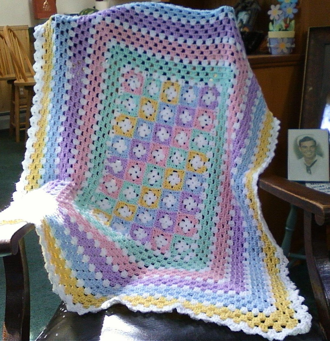 Baby Afghan Patterns Beautiful Pastel Crochet Baby Afghan Of Amazing 46 Ideas Baby Afghan Patterns
