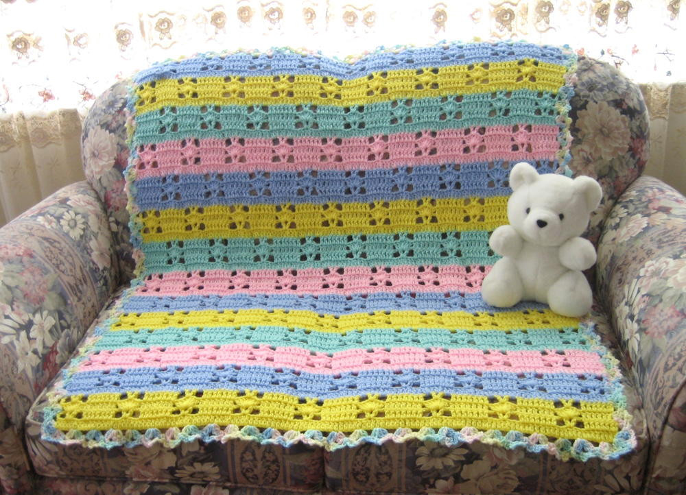 Baby Afghan Patterns Elegant Hushabye Baby Blanket Crochet Pattern Of Amazing 46 Ideas Baby Afghan Patterns
