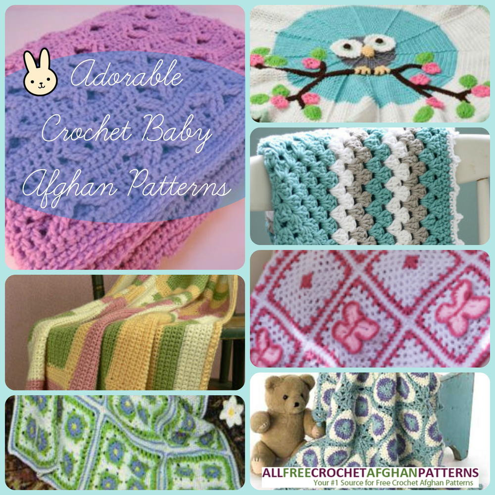 Baby Afghan Patterns New 34 Adorable Crochet Baby Afghan Patterns Of Amazing 46 Ideas Baby Afghan Patterns