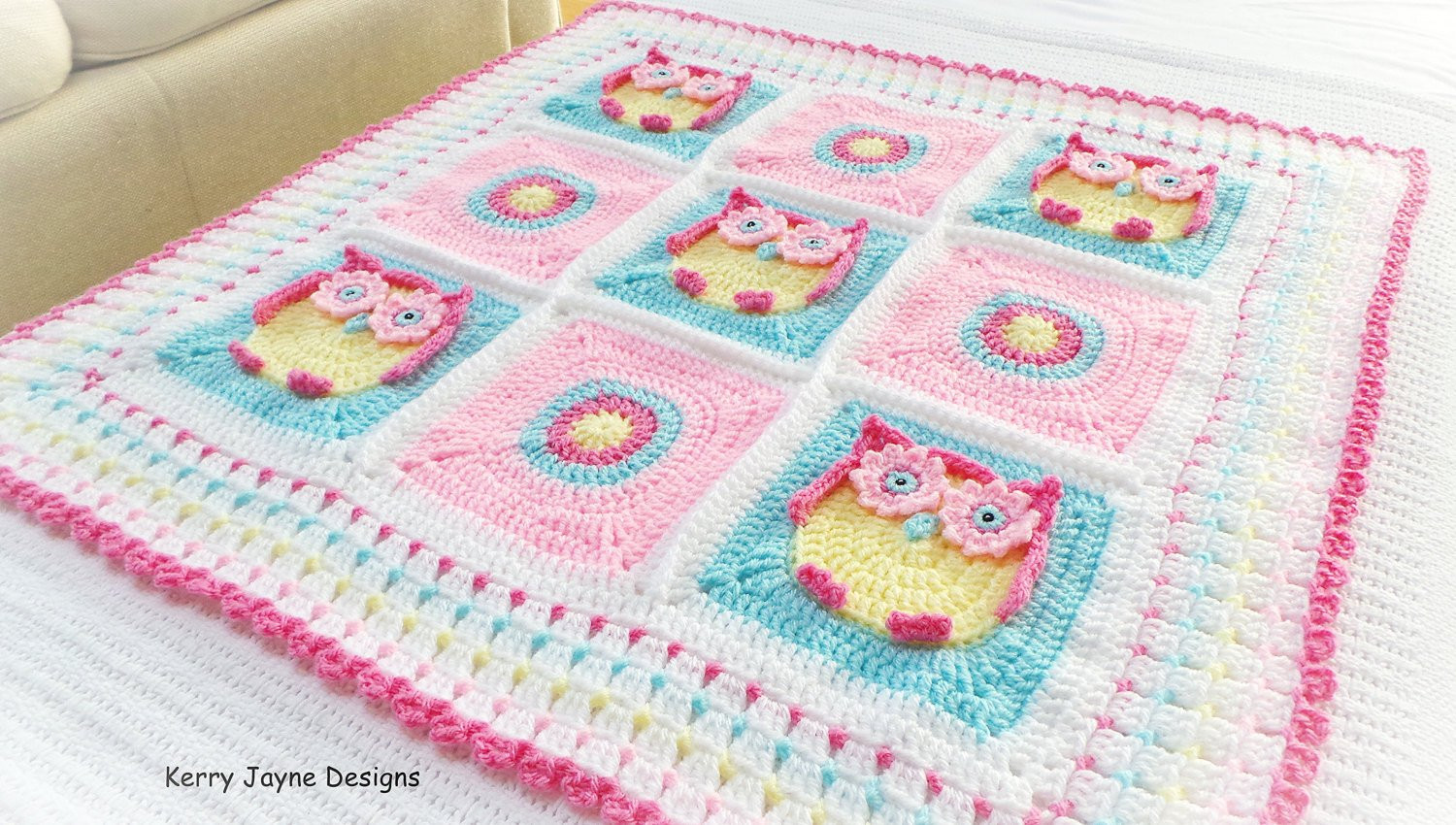 Baby Afghan Patterns New Crochet Baby Blanket Pattern Crochet Pattern Owl Blanket Of Amazing 46 Ideas Baby Afghan Patterns
