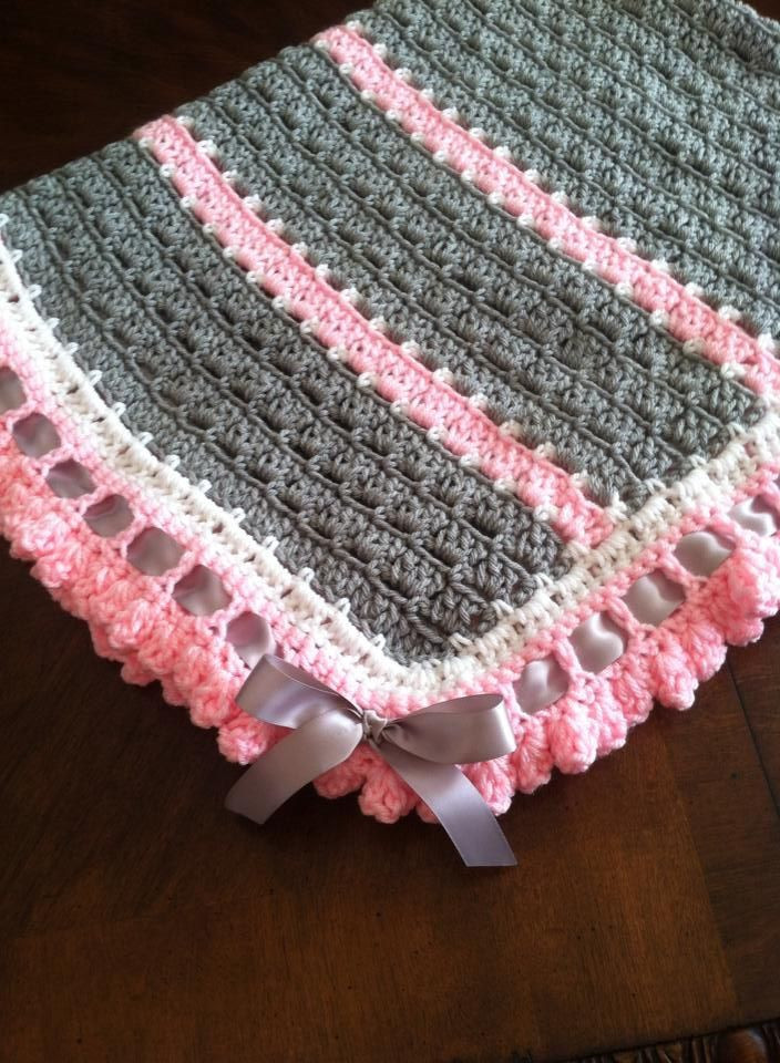 Baby Afghan Patterns New the Pattern is Free and Called Unique Blanket by Yolanda Of Amazing 46 Ideas Baby Afghan Patterns