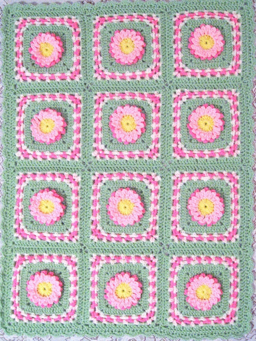 Baby Afghan Size Fresh Pdf Pattern Crocheted Baby Afghan Pastel Blooms Car Seat Size Of Beautiful 44 Models Baby Afghan Size
