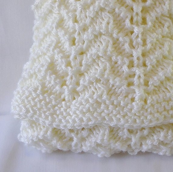 Baby Afghan Size Unique Cream Baby Blanket Afghan Newborn Size Handknitted In Creamy Of Beautiful 44 Models Baby Afghan Size
