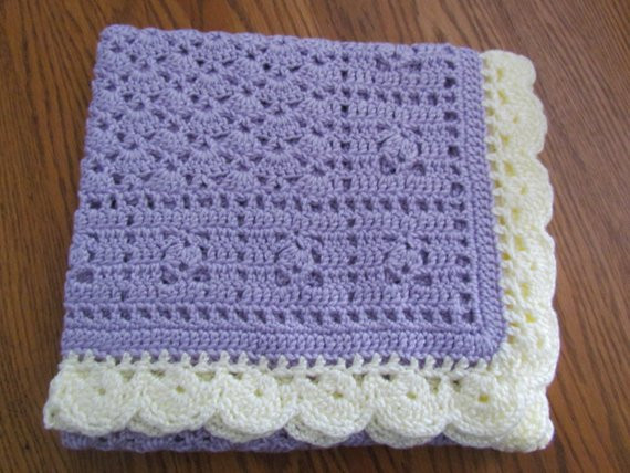 Baby Afghan Size Unique Lavender Baby Afghan Crochet Crib Size Baby Afghan Blanket Of Beautiful 44 Models Baby Afghan Size
