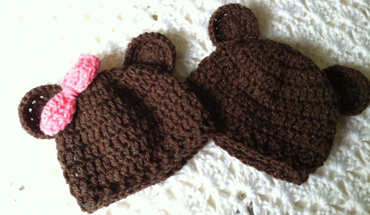 Baby Beanie Crochet Pattern Fresh Lakeview Cottage Kids Mr and Miss Brownie Bear Crochet Of Amazing 43 Images Baby Beanie Crochet Pattern