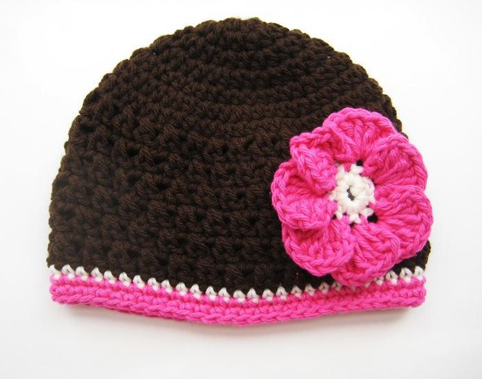 Baby Beanie Crochet Pattern Luxury for the Love Of Crochet Along Fall Beanie with Flower Of Amazing 43 Images Baby Beanie Crochet Pattern