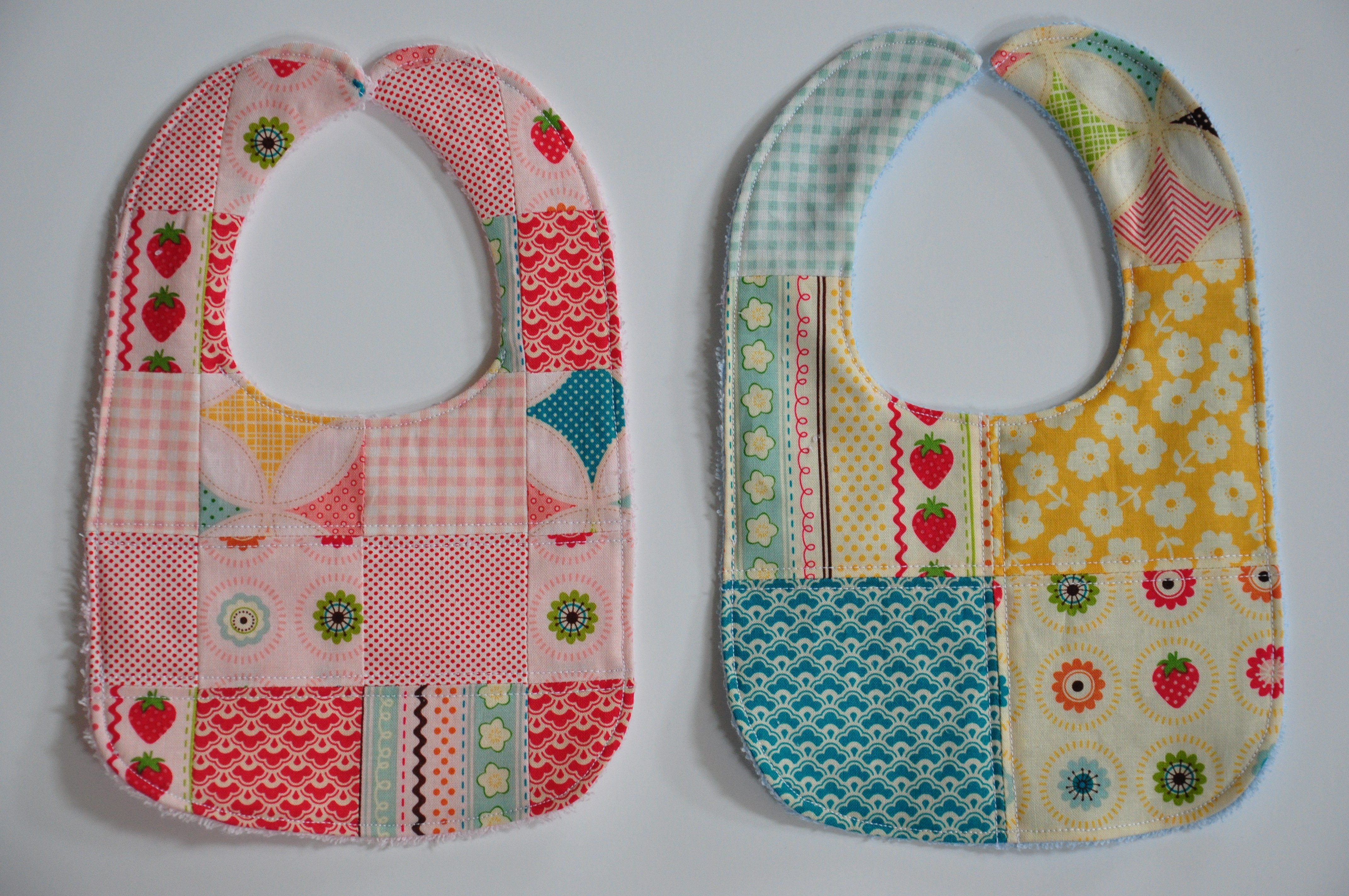 Baby Bib Pattern Inspirational Patchwork Bibs and Burp Cloths with Terry Cuddle — Clover Of Marvelous 50 Pictures Baby Bib Pattern