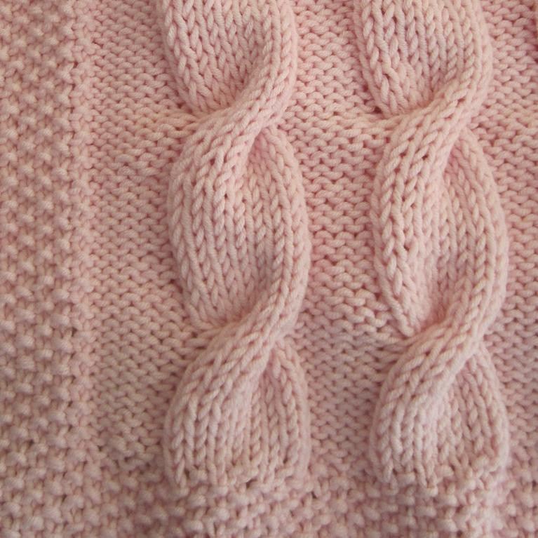 Cable Knit Baby Blanket Patterns